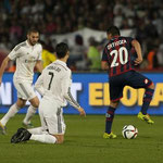 Cristiano Ronaldo a los pies del gran Ortigoza en la final del Mundialito.