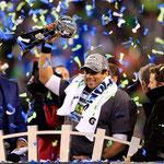 Los Seattle Seahawks vencieron a los Denver Broncos en la Superbowl de la NFL.
