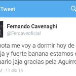El gracioso tweet de Cavenaghi tras obtener un nuevo título con River. Rápidamente lo borró.