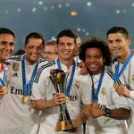 El Real Madrid logró el Mundial de Clubes.