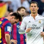 En el duelo directo de los Clásicos, Cristiano Ronaldo le ganó a Messi.