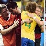 Todo un señor: Bastian Schweinsteiger.