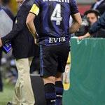 Zanetti 4 ever. Se retiró el símbolo del Inter: Javier el Pupi, Zanetti.