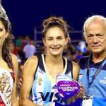 Las Leonas ganaron el Chamions Trophy 2014 y Lucha fue elegida la mejor.