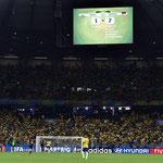 Resultado histórico en la historia de los Mundiales: Brasil 1-7 Alemania en las semis del Mundial.