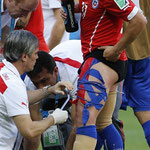 Aspecto de un guerrero del Siglo XXI: Gary Medel para la Selección de Chile.