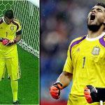 El héroe de la Selección argentina en las semis del Mundial frente a Holanda.