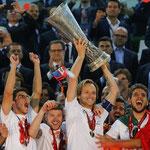 El Sevilla logró la Europa League 2013/2014 frente al Benfica.