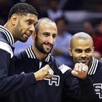 Los Spurs vencieron a los Heat en Las Finales y lograron el título de la NBA 2013/2014.