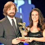 Andrea Pirlo nombrado mejor jugador de Italia.
