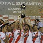 Tras 17 años, River Plate volvió a ganar un título internacional, la Copa Sudamericana.