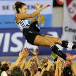 La despedida de la genia del Hockey: Luciana Aymar.