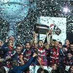 San Lorenzo hizo historia y logró su primera Copa Libertadores.