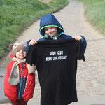 14/04/19 - Paris-Roubaix à Maing (59) - Pauline & Eliott