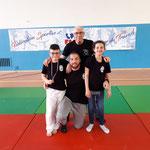 22/04/19 - France FSGT poussin - Paris (75) - Alain, Nicolas, Rym & Rayane