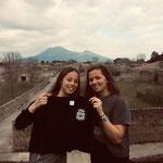 03/04/19 - Pompéï et Vésuve (Italie) - Amandine