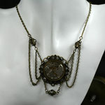 "SteamPunk-Collier ""Voctoria Clock"" (00006)"