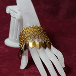 ChainMaille-Armband European golden (00171)