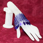 """ChainMaille-Armband 4-in-1 """"violett"""" (00169)"""