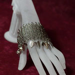ChainMaille-Armband European Edelstahl (00173)
