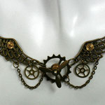 "SteamPunk-Collier ""Propeller-Wings"" (00005)"
