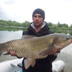 35 Pfund, welcher Karpfenfischer  träumt nicht davon