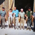 Königsfischen an der Zusam mit einigen Karpfen und nem Meterhecht
