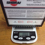 SHORAIバッテリー充電器188.8g