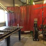 Kemppi Fast MIG Pulse 350 mit S4 Arbeitstisch im Raum Sinsheim