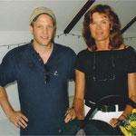 2004 - Christian Kramer mit Doppel-Olympiasiegerin Ulrike Meyfarth (Hochsprung, 1972 u. 1984)