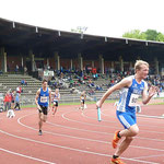 Startläufer Johannes v. Schledorn(4x100m mU18)
