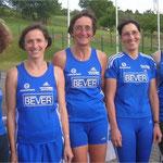 Die Lauf-Damen: Anna Marx, Eva Jansen, Ulrike Wilbrand, Ulla Cordes, Theresa Elles