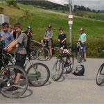 Radtour der Nachwuchsgruppe