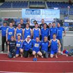 """DMM-Bundesliga-Team der Männer 2009 (""""mit"""" sechs Absagen nach Verden)"""