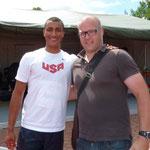 Thorpe Cup 2012 - Christian Kramer mit Ashton Eaton