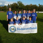 3. Pl. Westfalenmeistersch. - DJMM-Team 2012 der wU14