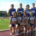 4x100m: Mä: Memed, Matzke, Kluge, Hombach; wU18: Lauterbach, Hebbecker, Cordes, Schwermer