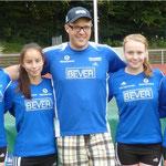 Das Siebenkampf-Team der wU16 (2014 in Rheine)
