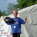 Sport und Spaß - Siegerehrung am Gillerzelt...