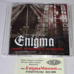 """Il CD """"Enigma"""" sulle macchine criptografe, edito dal Prof. Tom Perera W1TP"""