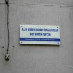 Regenwasserspeicherung