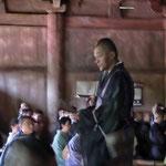 沼田部の大岡さんが群馬仏青の代表で出仕しました