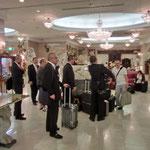 仙台市江陽ホテルに到着です