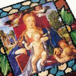 Madonna mit dem Zeisig (Albrecht Dürer - 1509)