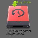 Tutoriel Jimdo pour sauvegarder son site facilement