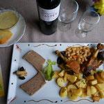 Assiette de Pays de L'Auberge Lesca