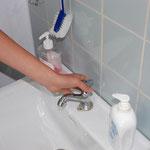 Praktische Abschlussprüfung: Wasserhahn abstellen