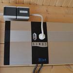 Wechselrichter mit netzparallelem 230-Volt-Anschluss an den Werkraum