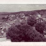 Vu du clocher dans les années 1945