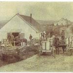 Beurrerie au centre du village